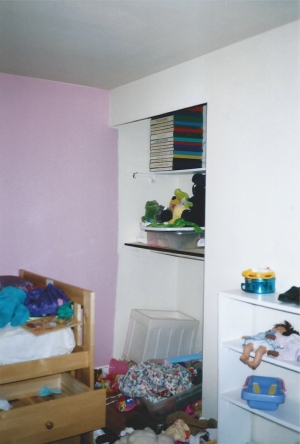 BEFORE - Candice's Bedroom, Cluttered, Toys Everywhere