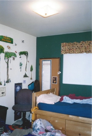 BEFORE - Cash's Bedroom, Cluttered