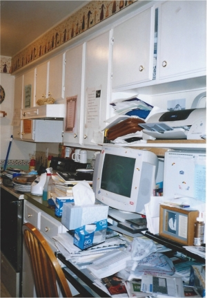 BEFORE - Cluttered Kitchen (Yes, really!)