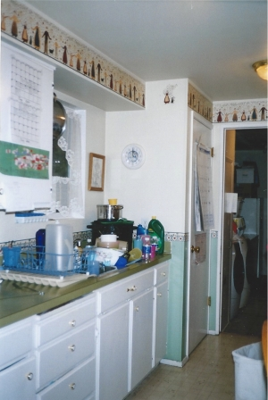 BEFORE - Kitchen - Sink Side