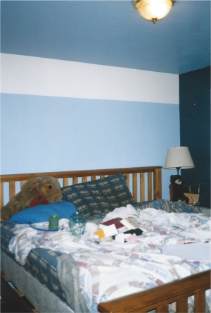 BEFORE - Cluttered Bedroom